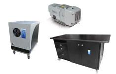 GC läckdetektor och flödesmätare
