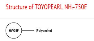Structure of Toyopearl
