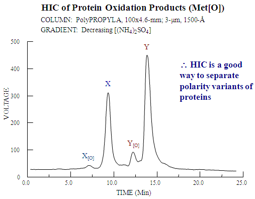 HIC of Protein Oxidation Products