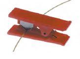 Guillotine tubing cutter