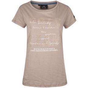 T-Shirt Medina från HV polo  - Taupe XS