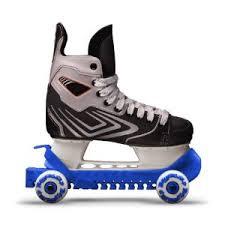 Skridskoskydd med hjul (rollergard) - Mörkblå