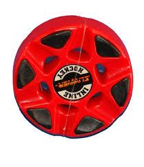 slivver inline hockey puck - Slivver inline hockey puck röd
