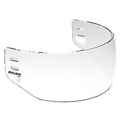 Bauer Pro Straight visir - Bauer Pro Straight Visor clear,medium