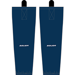Bauer Flex Stock Hockey Sock 600 series - Bauer Flex stock Yth/NAVY/ S-M