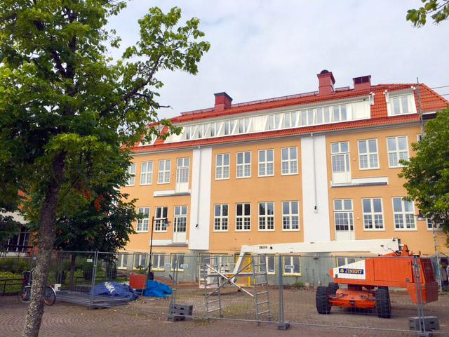 Ombyggnation pågår, inflytt planeras i augusti 2016.