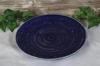 porslin-assiett-blå assiett