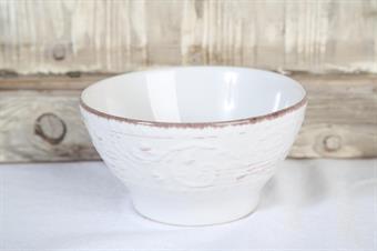 dessertskål-frukostskål-vit skål