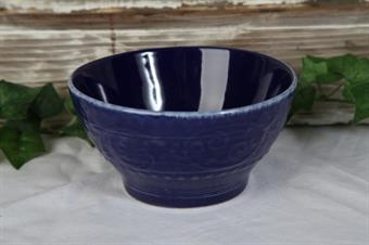 skål-porslin blå skål-desertskål-frukostskål