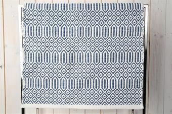matta-gång matta-blå matta