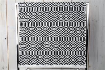 matta-gång matta-svart matta