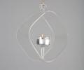 Ljushållare av glas