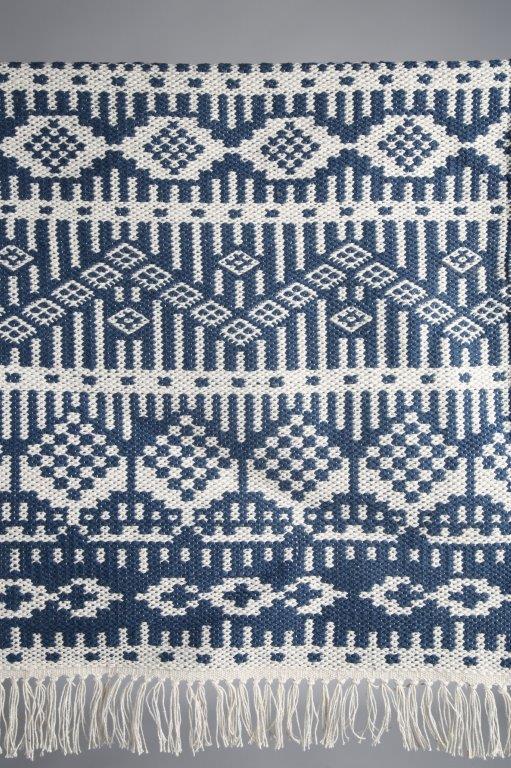 matta-blå matta