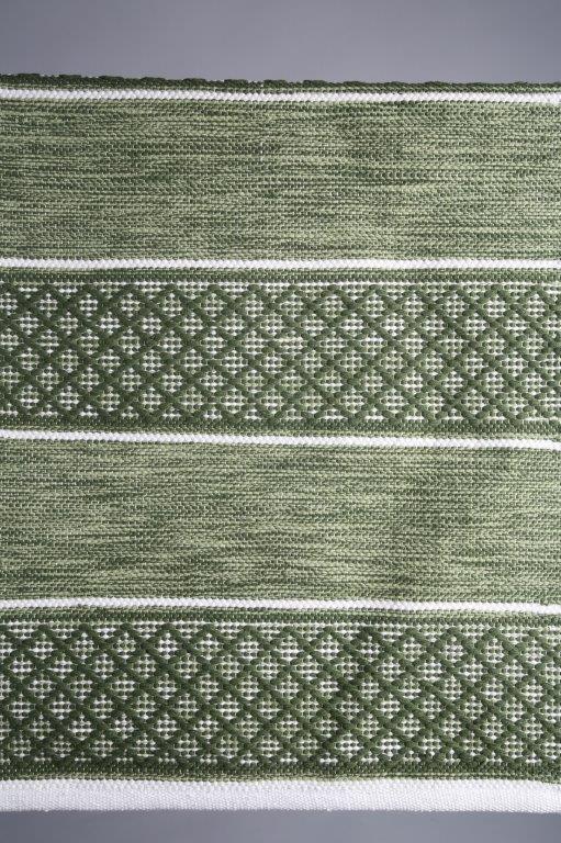 mattagångmatta-grön matta