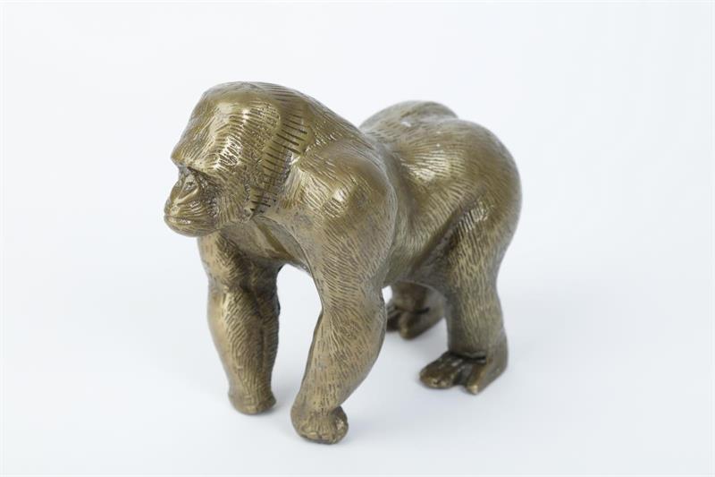 guld chimpans-chimpans-prydnadschimpans