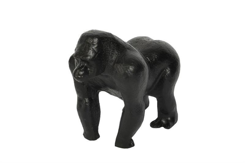 svart chimpans-chimpans-prydnadschimpans
