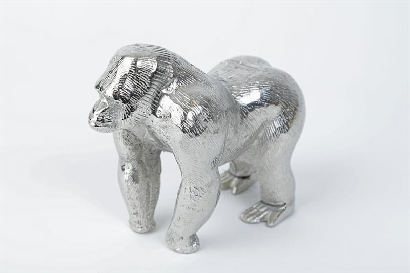 silver chimpanschimpans-prydnadschimpans