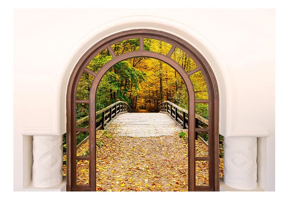 Fototapet - Door To Autumn1