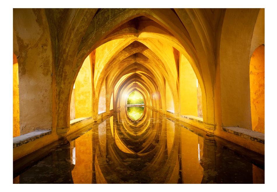 Fototapet - The Golden Corridor1