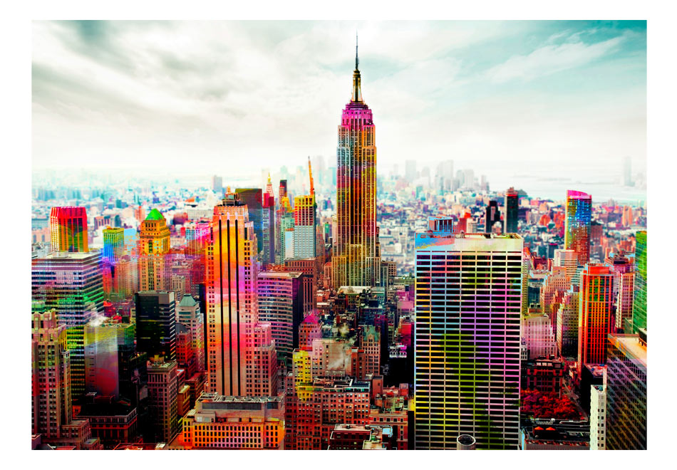 Fototapet - Colors of New York City1