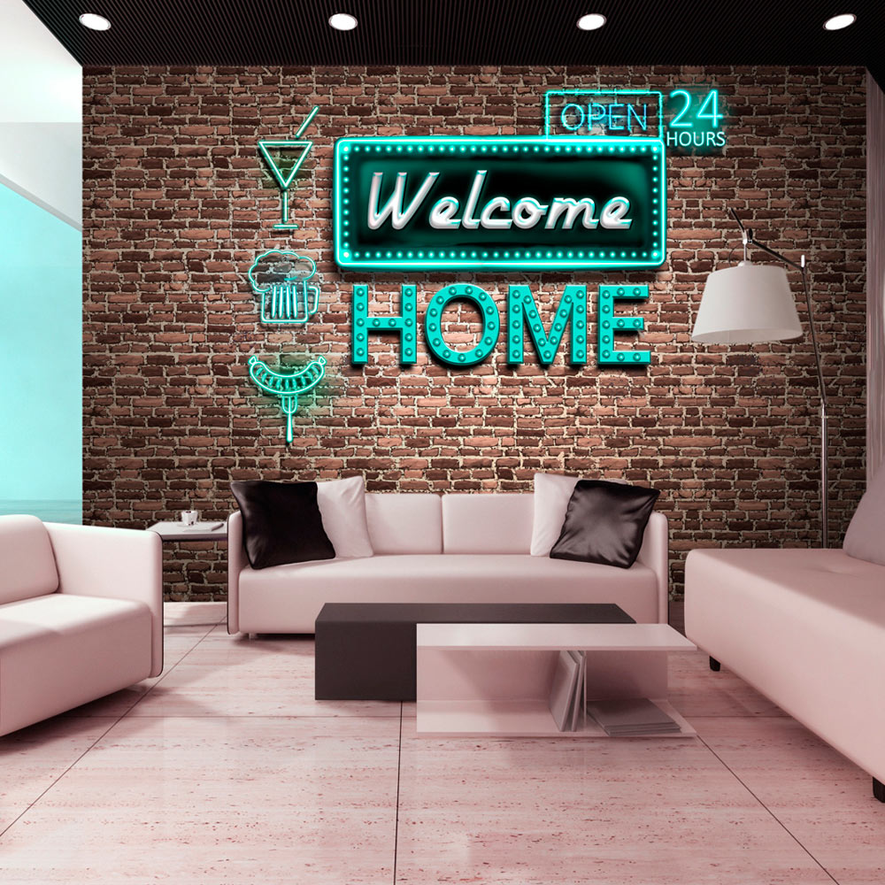 Fototapet - Welcome home - inscription