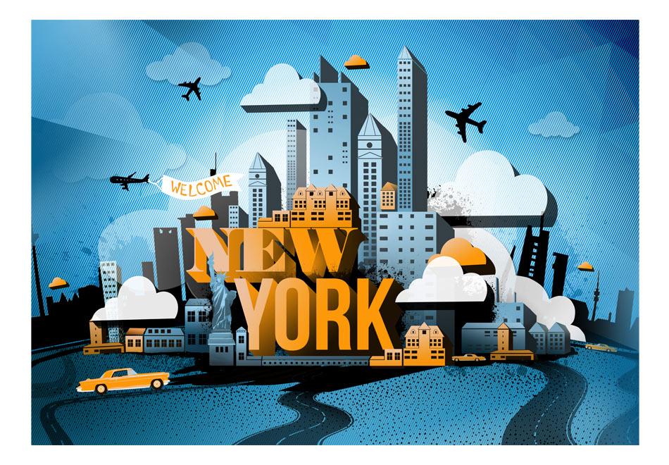 Fototapet - New York - welcome1