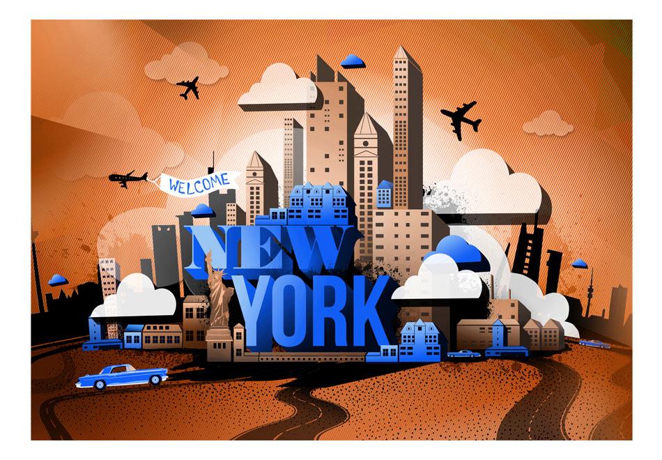 Fototapet - Welcome ... New York!1