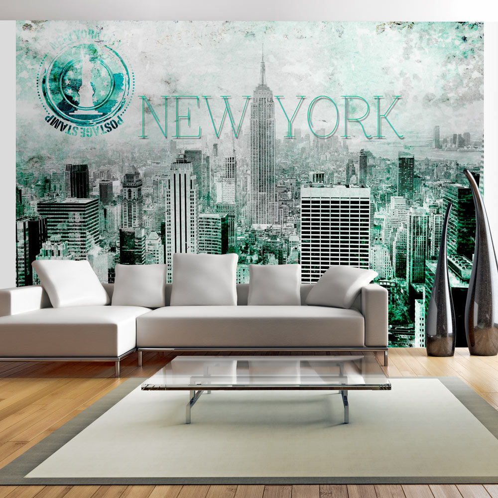 Fototapet - Emerald New York
