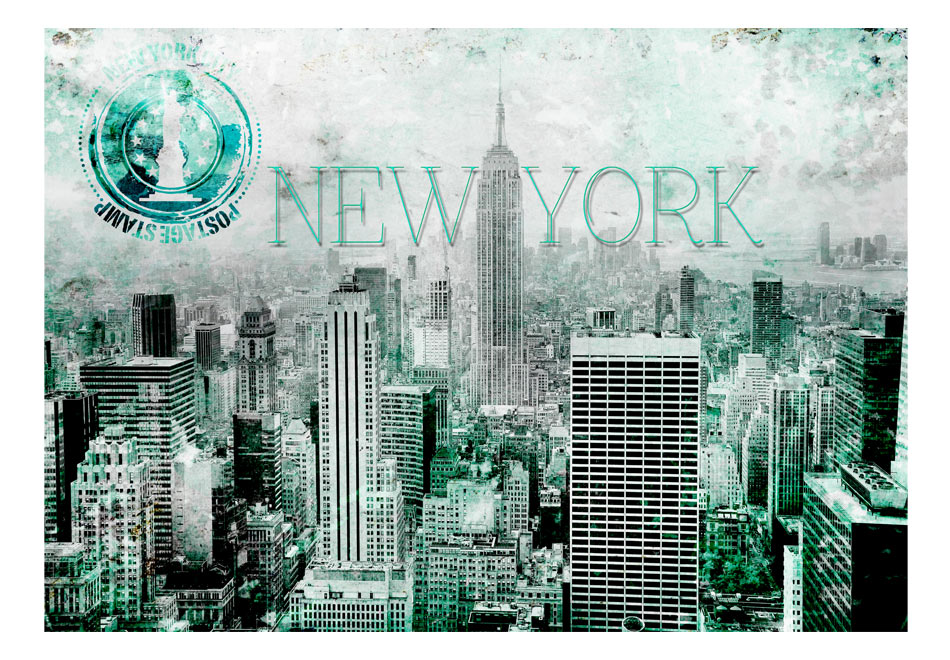 Fototapet - Emerald New York1