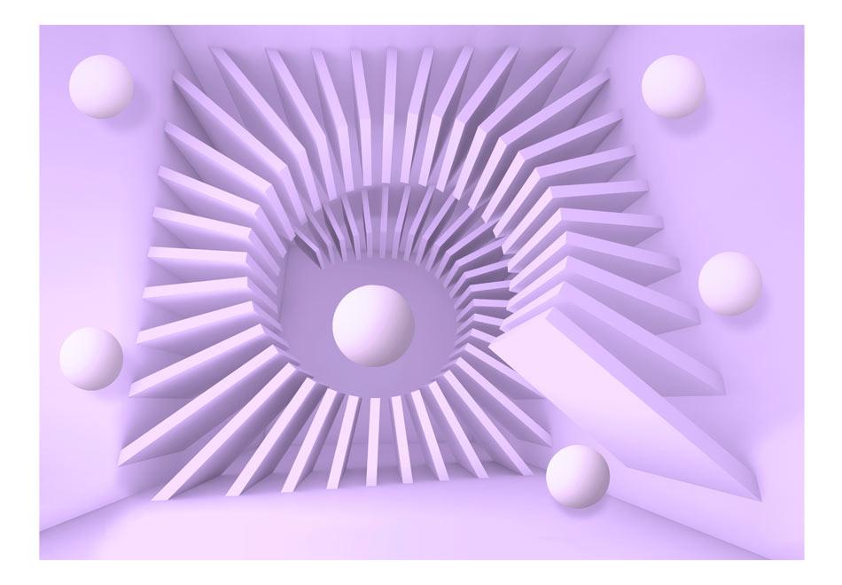 Fototapet - Lavender maze