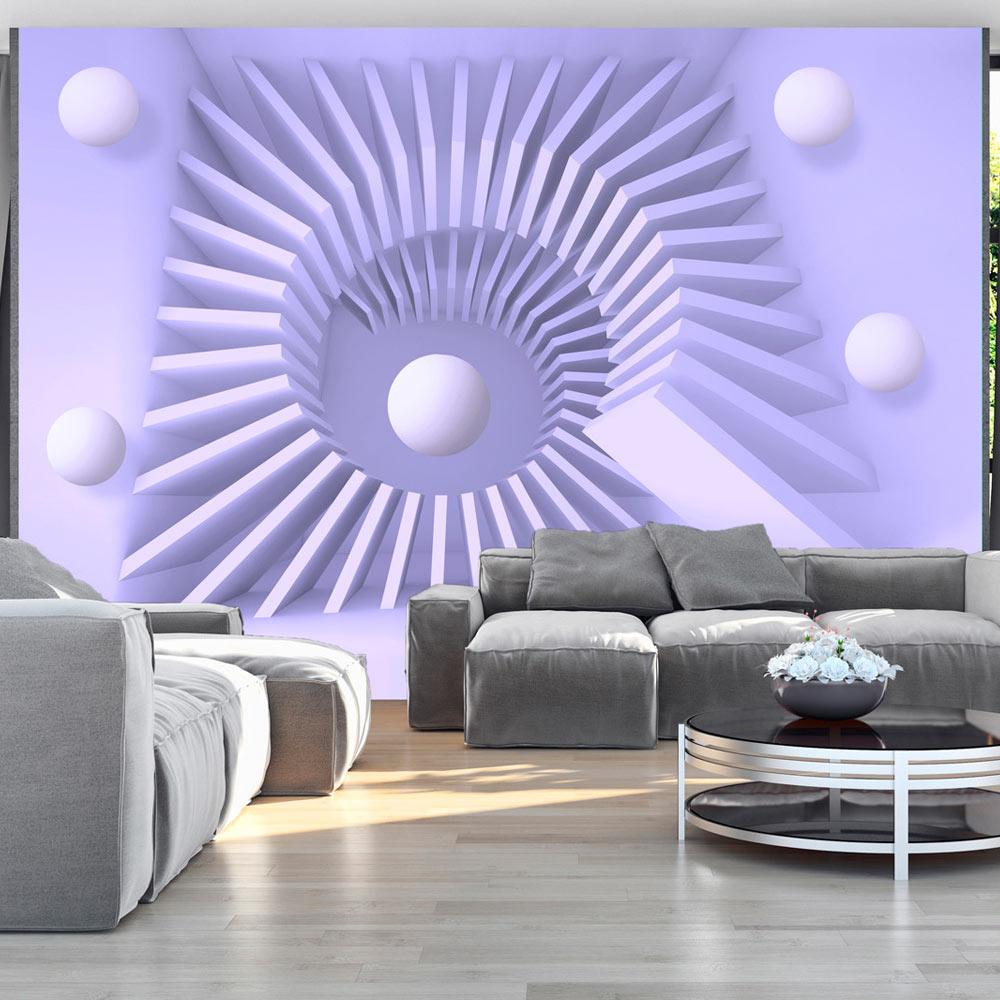 Fototapet - Lavender maze1
