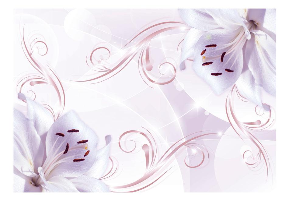 Fototapet - Pink dancers1