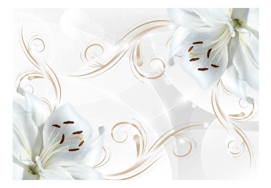 Fototapet - White dancers1