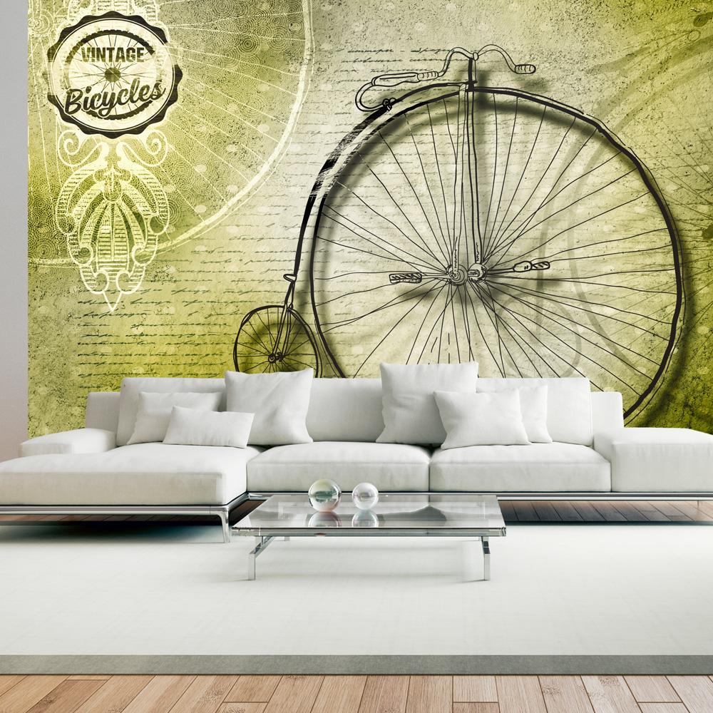 Fototapet - Vintage bicycles