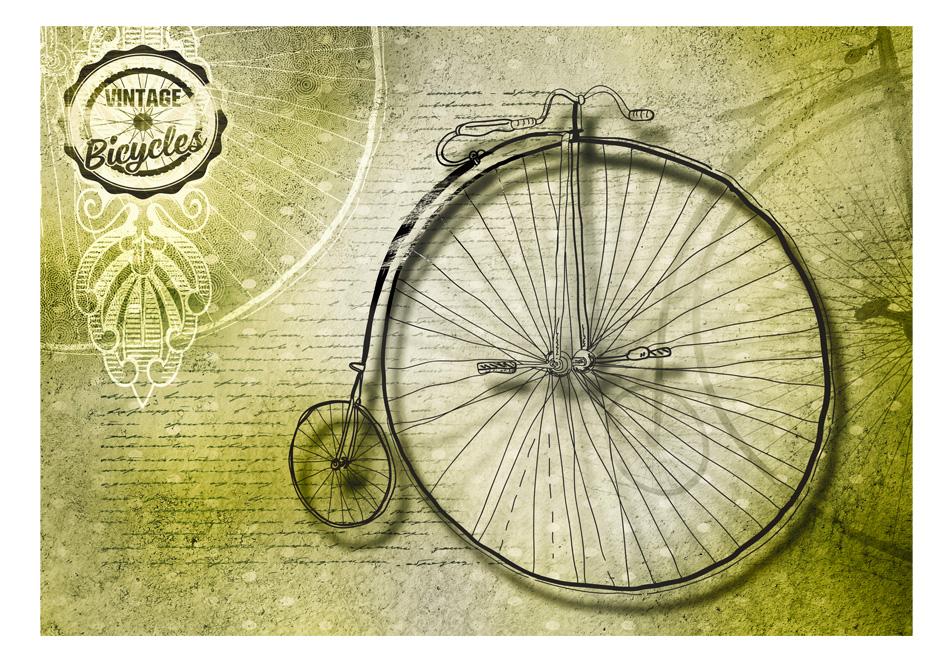 Fototapet - Vintage bicycles1