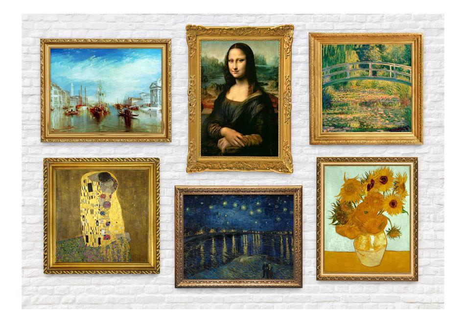 Fototapet - Wall of treasures1