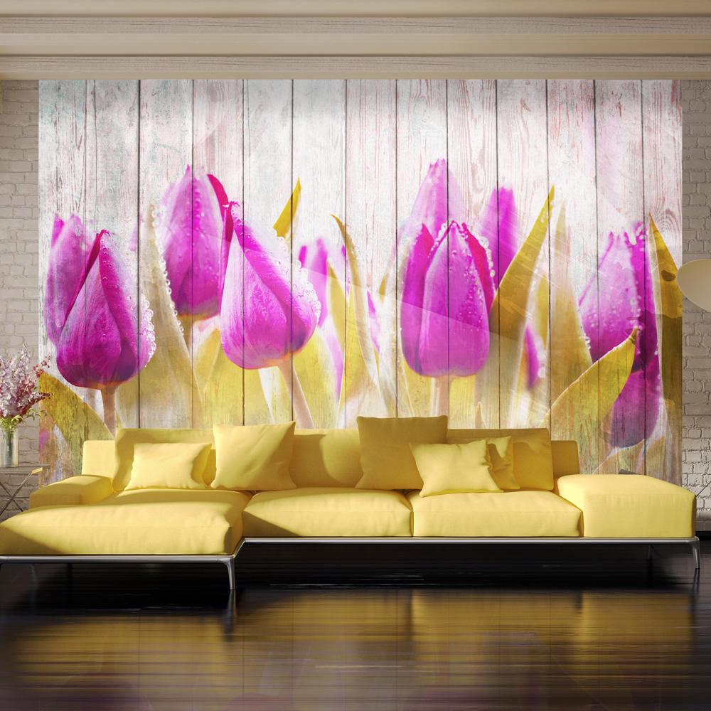Fototapet - Autumn tulips