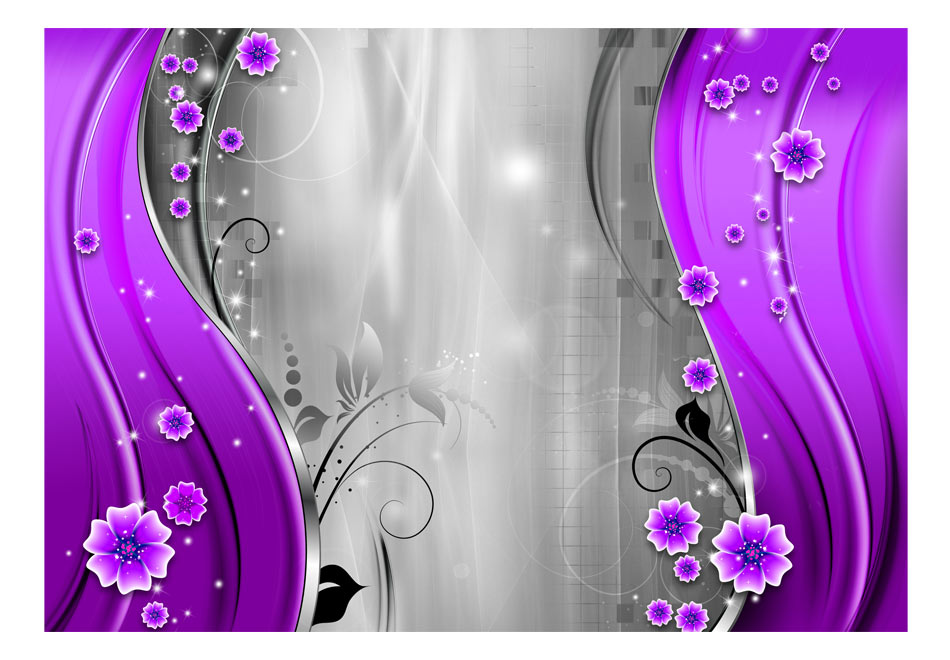 Fototapet - Behind the purple curtain1