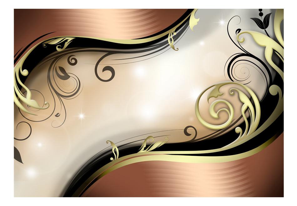 Fototapet - Golden glow1