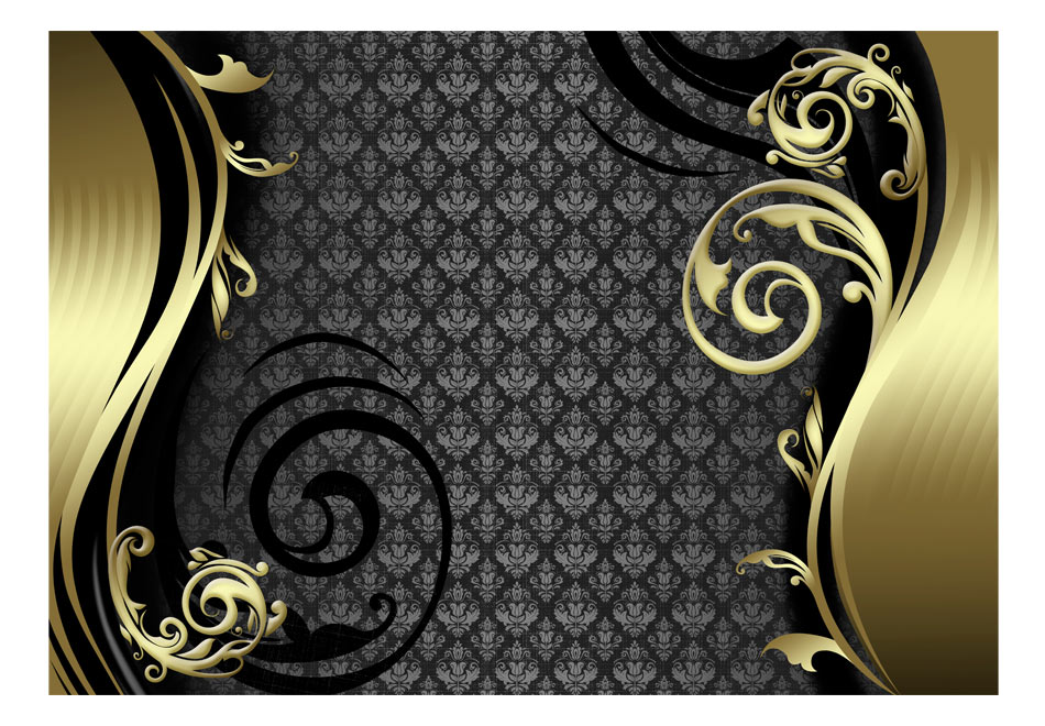 Fototapet - Golden curtain1