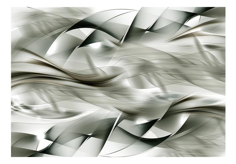 Fototapet - Gray braids1