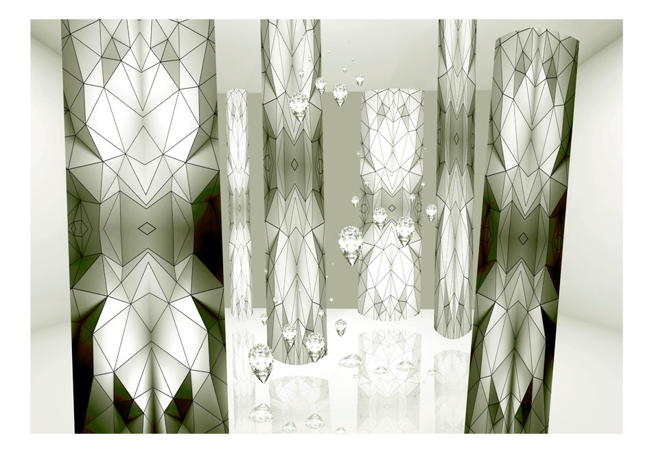 Fototapet - Glass spiders1