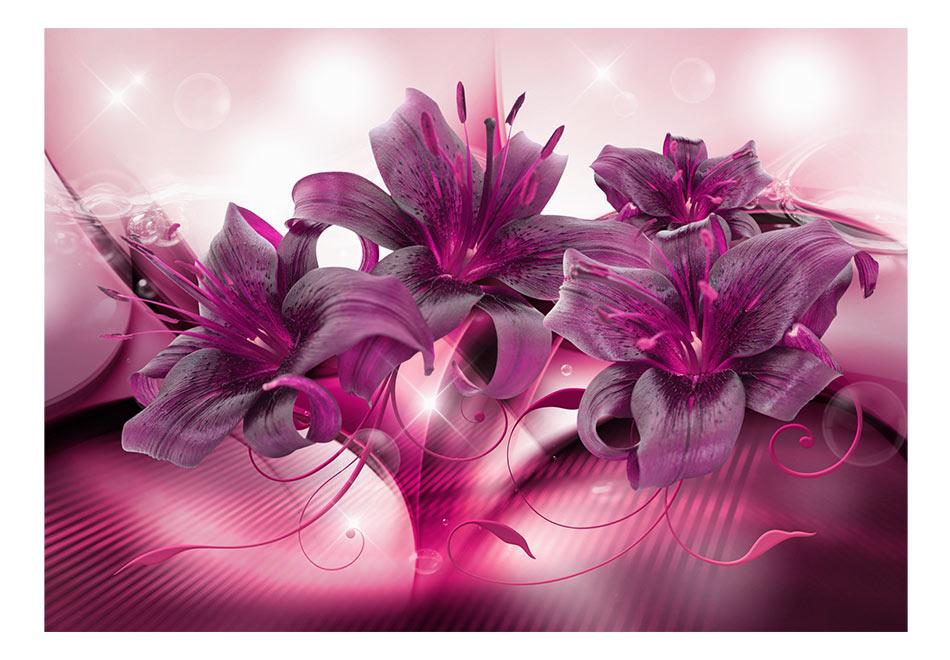 Fototapet - The Purple Flame
