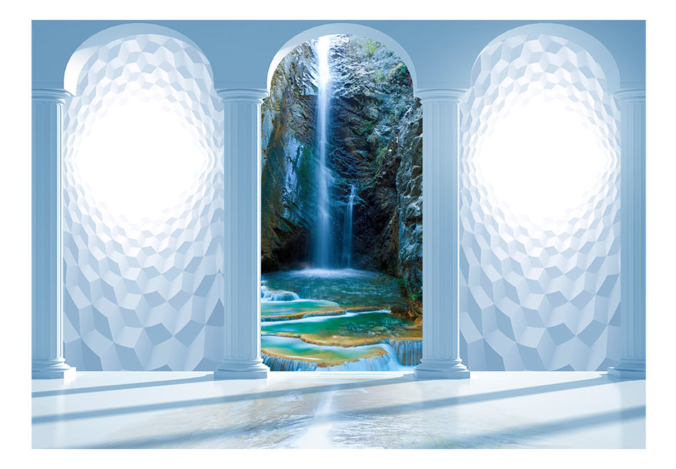Fototapet - Heavenly waterfall
