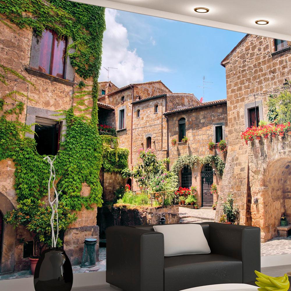Fototapet - Tuscan alley