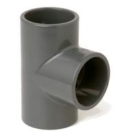 PVC koppling T- stycke 90 grader - 16mm