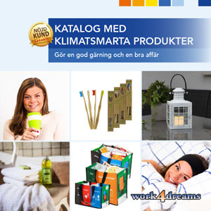 Sälj klimatsmarta produkter via katalog