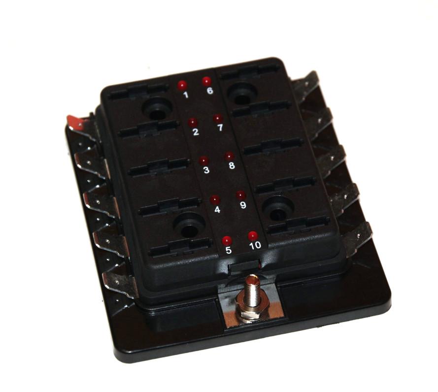 Säkringsbox LED