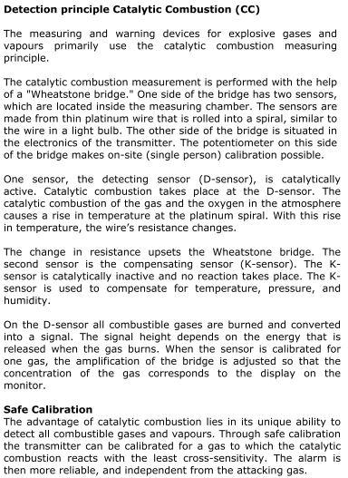 Katalytisk sensor