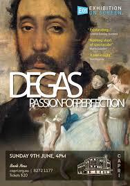 Degas: Passion for Perfection - 10 april kl. 19.00